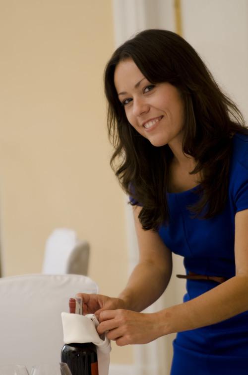 Na zdjęciu: Agata Niebrzegowska Wedding Designer