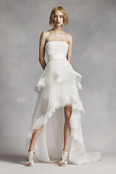 ad4ebbd08a Krótka sukienka ślubna - komu pasuje i jakie ma atuty  - Kobieta Po 30