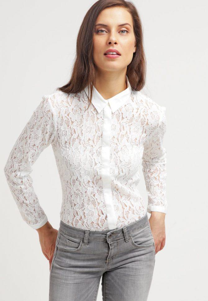koszula koronkowa