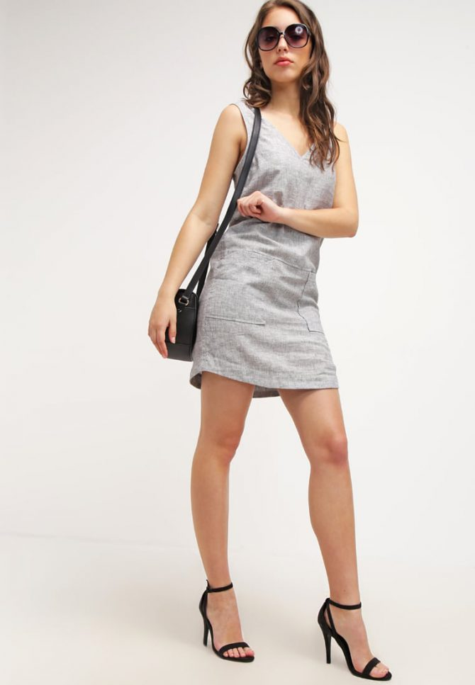 sukienki lniane