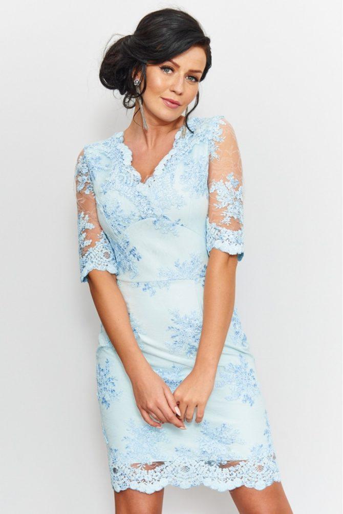 sukienka na komunię dla mamy