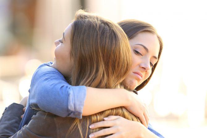 o ludziach, którzy nie lubią się przytulać