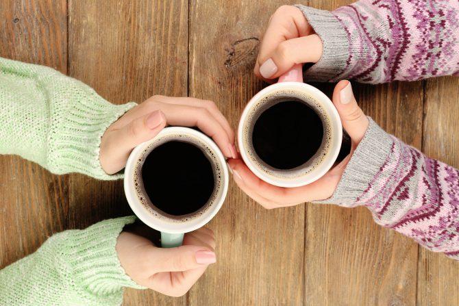 napić się kawy