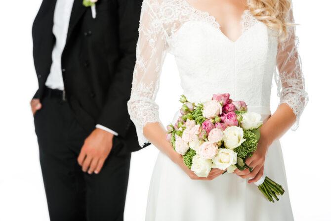 co zrobić z bukietem ślubnym