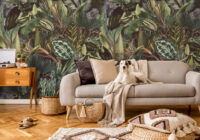 Fototapeta liście tropikalne