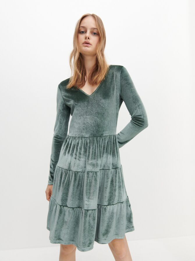 zielone sukienki